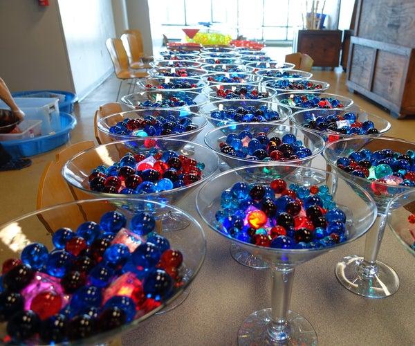 Making 9,000 Grow Spheres