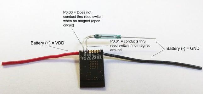 Example 1 - BLE Door/Window Sensor