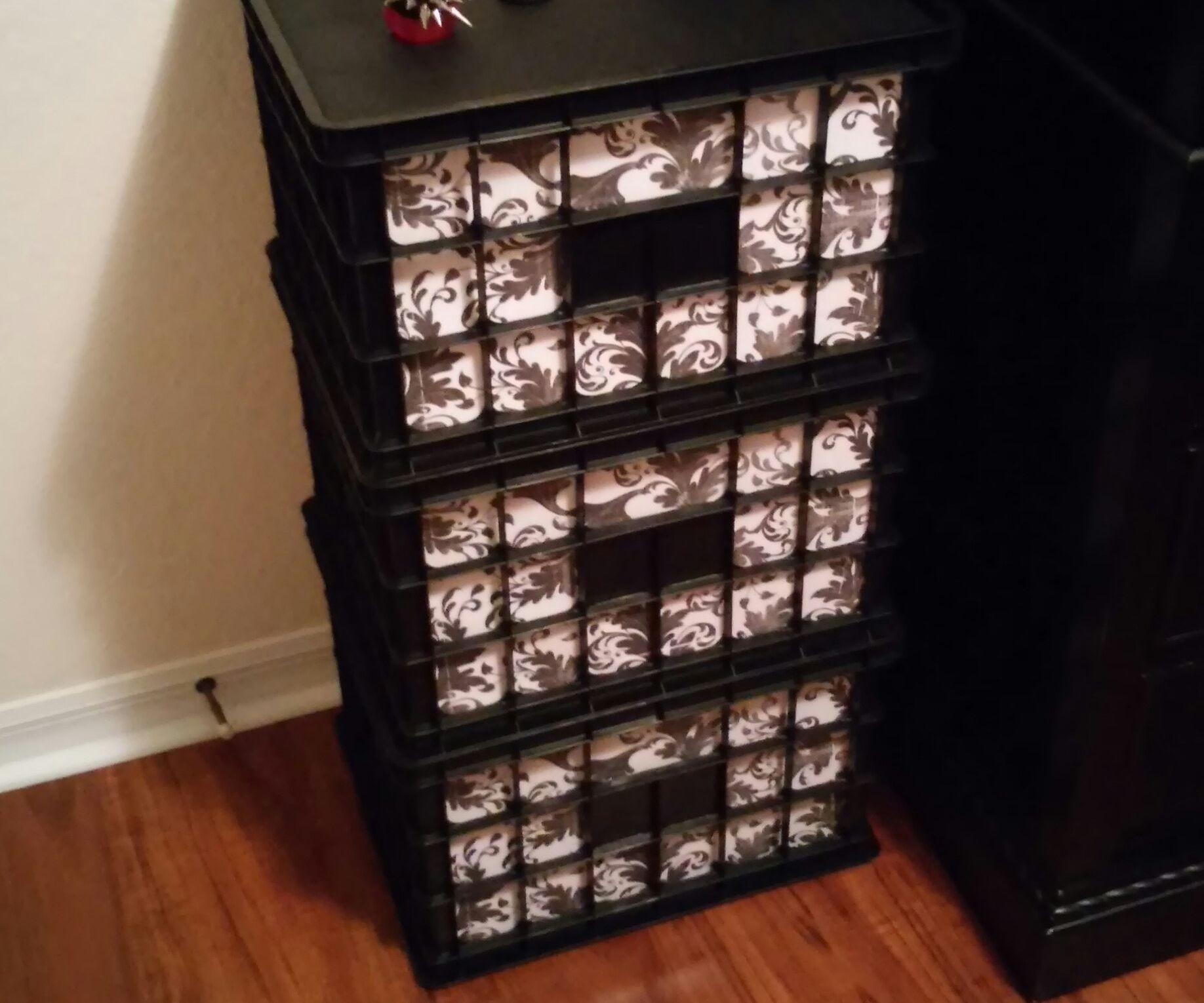 File crate storage column
