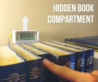DIY Secret Book Compartment