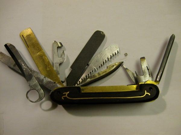 Make a Steampunk Pen Knife