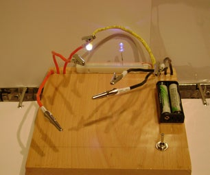 Helping Hands With Led Tester.