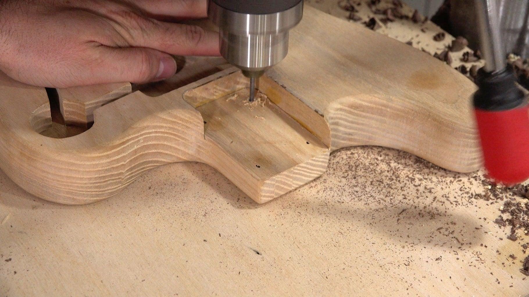 Drill Neck Holes
