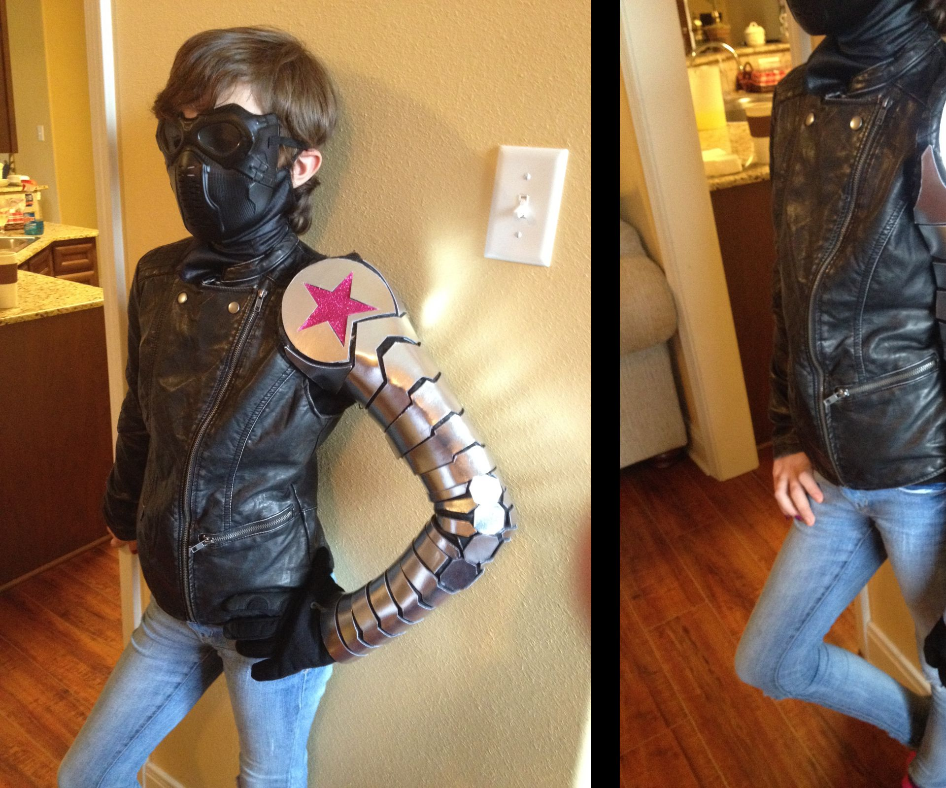 Winter Soldier Costume Build