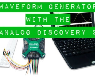 Using the Waveform Generator With the Analog Discovery 2