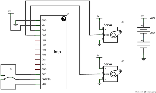 ImpBot: Schematic and Getting Started