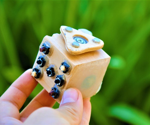 How to Make a Wooden Fidget Cube