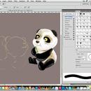 Drawing a panda (PSD steps)