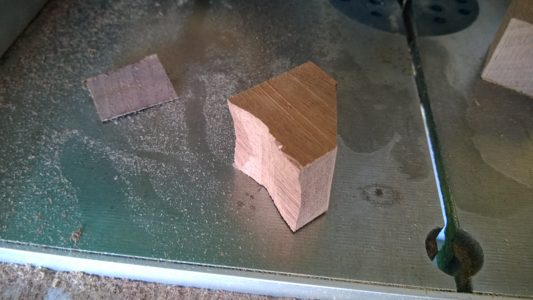 Cut the Lid Insert, Handle, and Legs