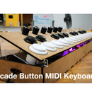 Arcade Button MIDI Keyboard