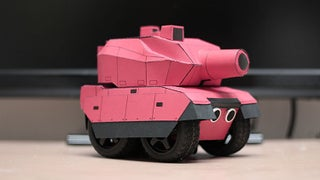 RC Paper Tank - Bring Your 3D Models to Life