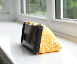 DIY Phone Holder | How to Sew a Triangular Stand for Your Mobile