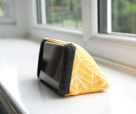 DIY Phone Holder   How to Sew a Triangular Stand for Your Mobile