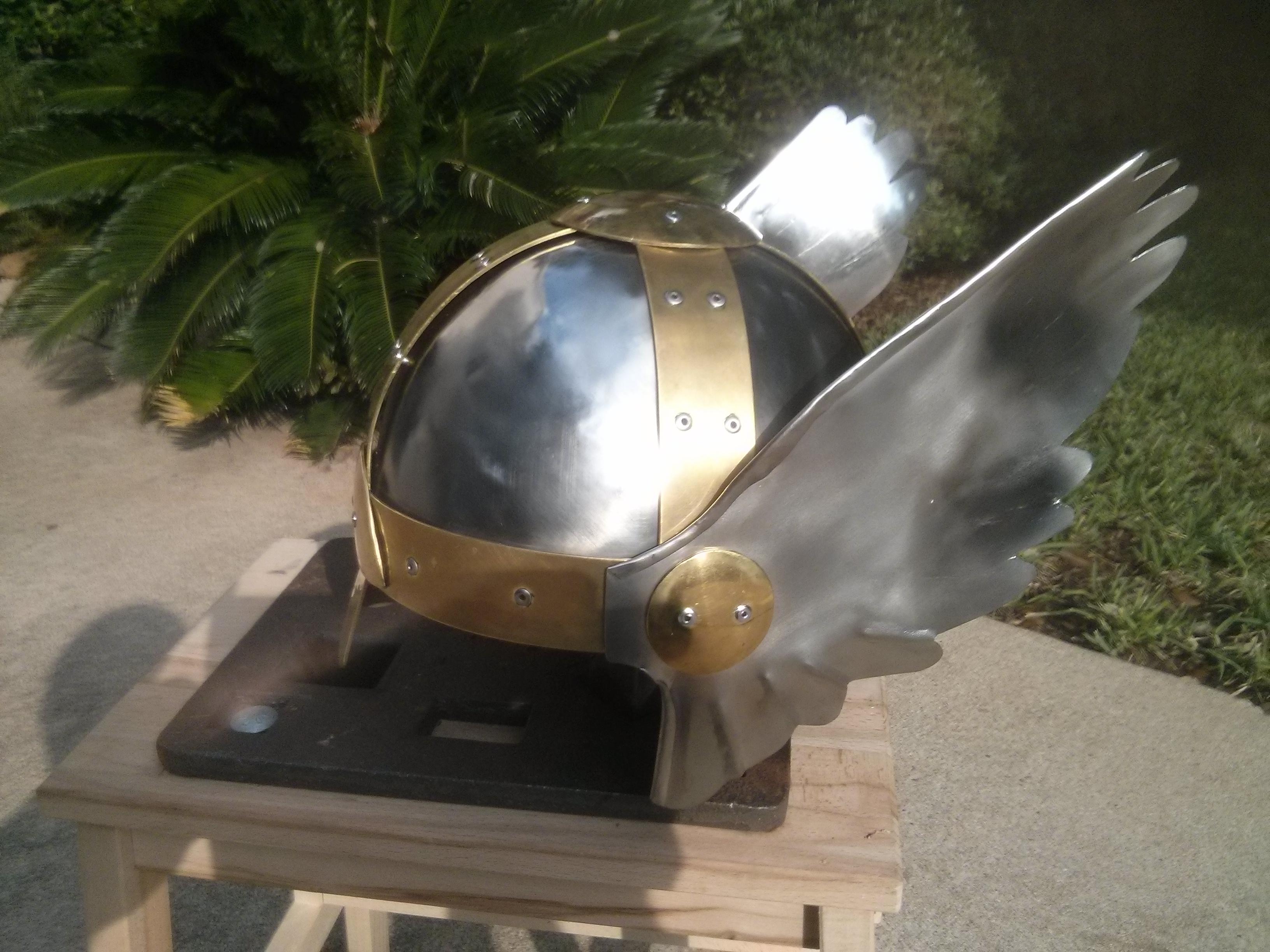 Steel Wings for Thor or Valkyrie Helmet