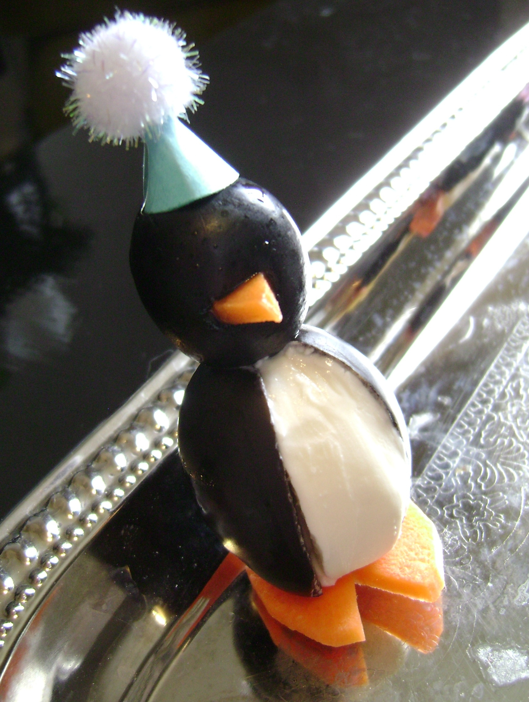 Penguins in Party Hats