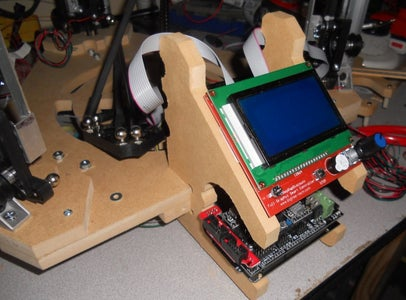 Make RAMPS 1.4 Holder and LCD Stand