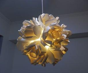 Paper Cup Rose Light