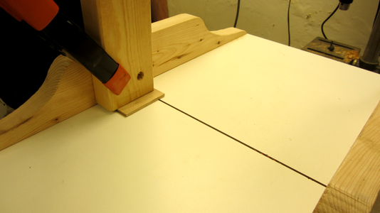 Set Up the Wood Piece for the Photoresistors