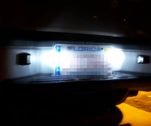 License Plate LEDs