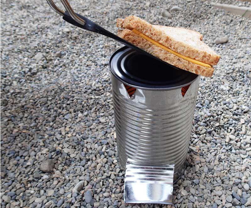 Tin Can Camp Stove