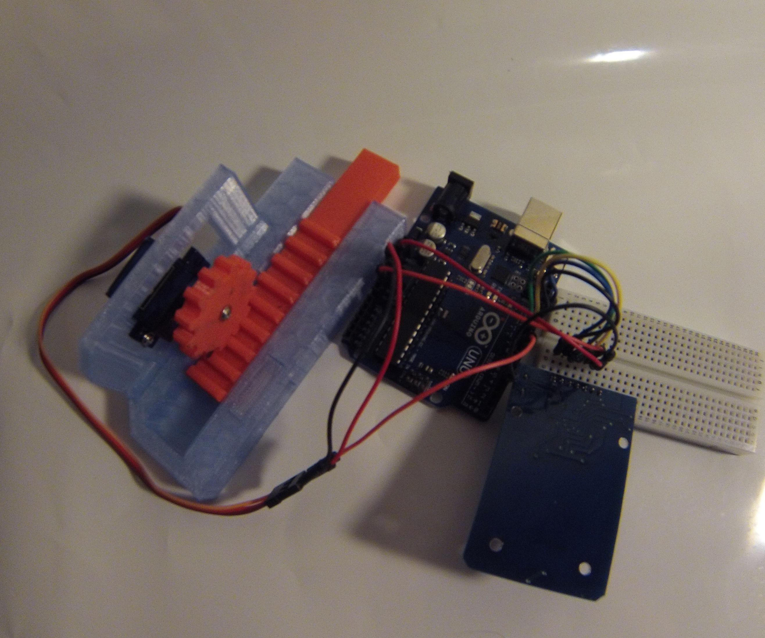 RFID Controlled Door