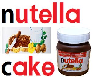 3d Nutella Jar Cake
