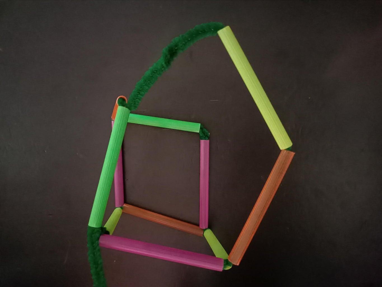 Cube Bubble Wand