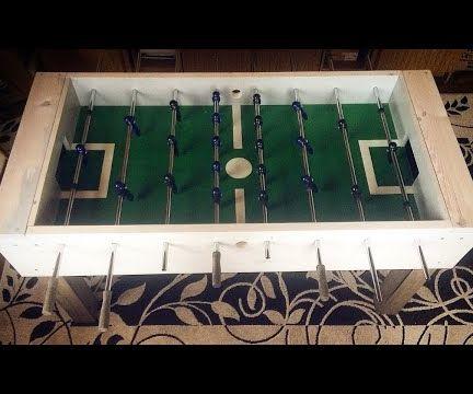 Foosball Table DIY!
