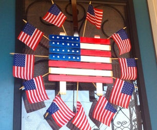 Celebrate the 4th of July With Easy Door Decorations
