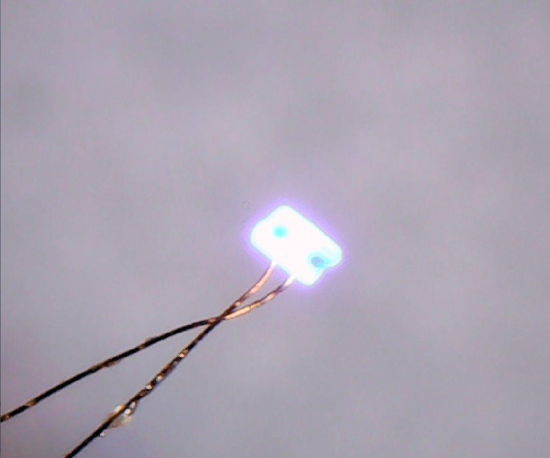 LED bonding manually