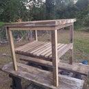 Outside Wood Table