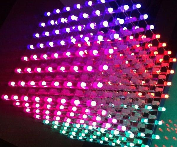 8x8x8 RGB Led Cube by Pierrot