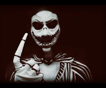 Super Spooky Jack Skellington the Pumpkin King Make-up