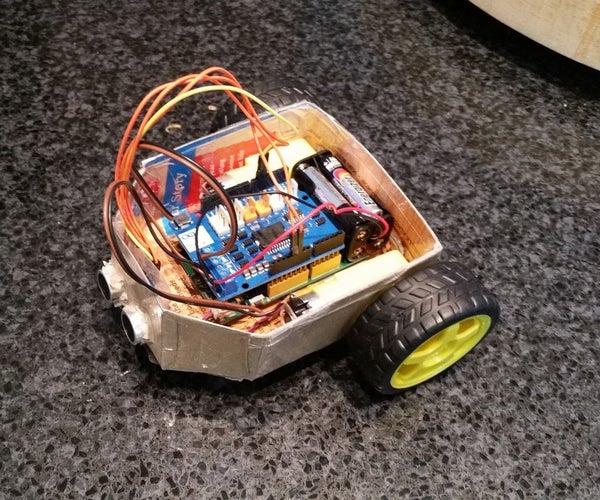 Poor Man's Robot Chassis for MediaTek LinkIT ONE