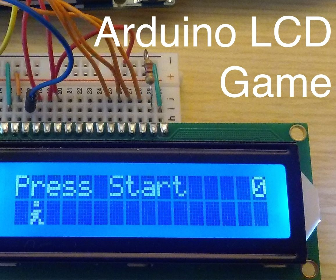 Arduino LCD Game