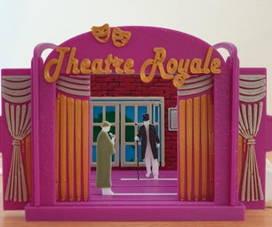 迷你剧院互动模型