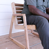 Salvage Rocking Chair