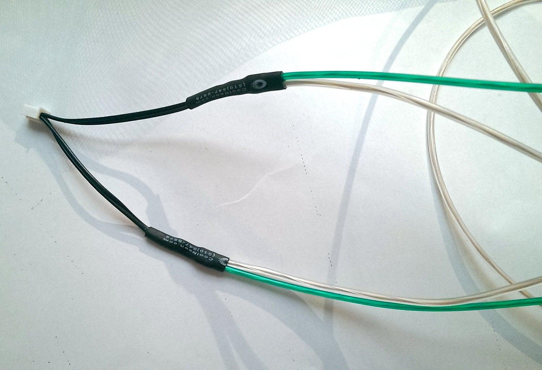 Soldering the El Wire
