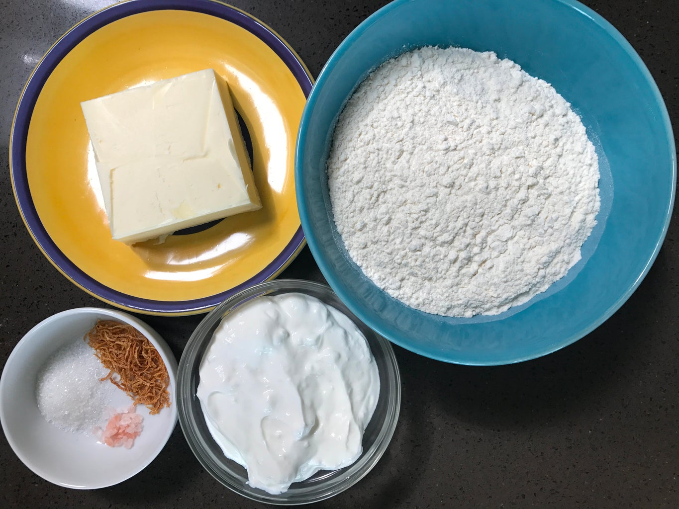 Ingredients of the Crust