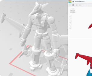 Jet Soldier (Tinkercad Mashup Contest)