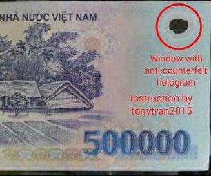 Detecting Counterfeit Polymer Vietnamese Money