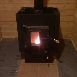 Wood Fired Sauna