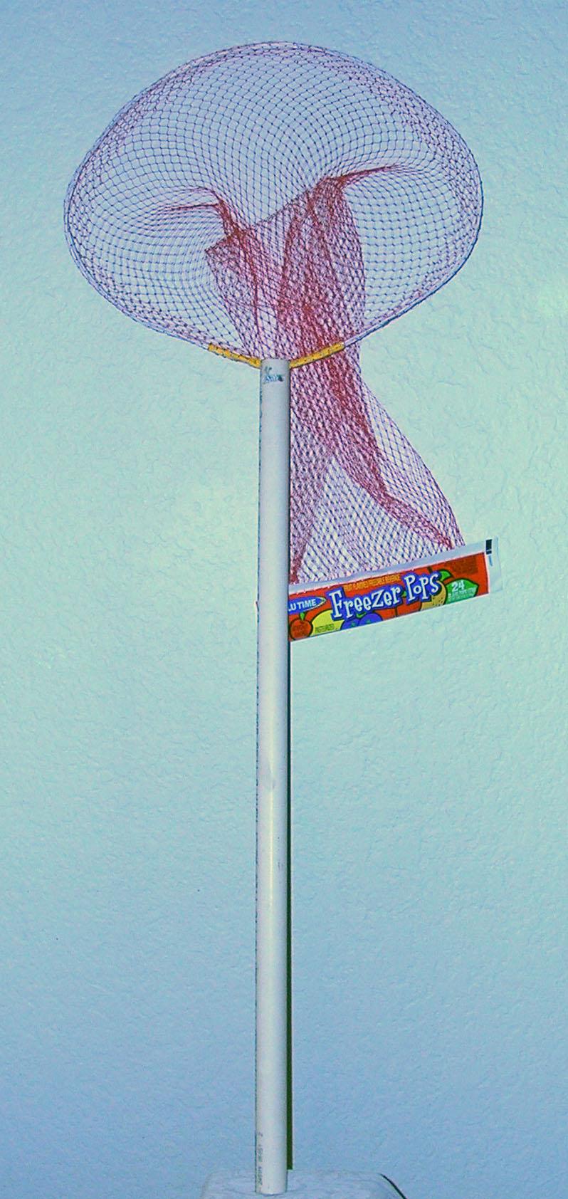 Minnow Net From A Freezer Pop Net Bag (Crawdad/Crawfish too!)