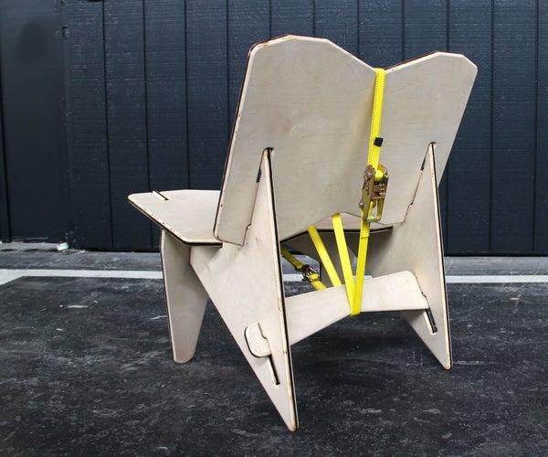 Ratchet Strap Chair