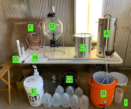 Home Brewing - 3 Vessel System (Milk Stout, 5 Gallons)