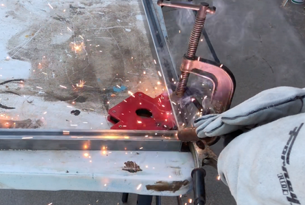 Trying to Weld the Frame
