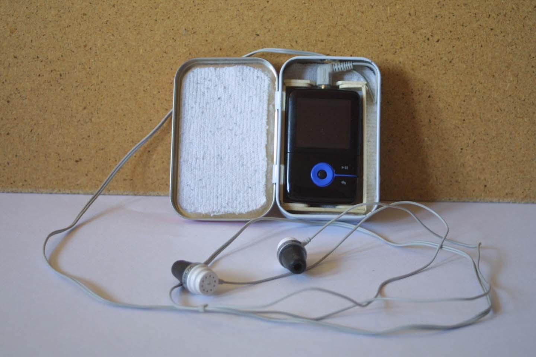 Altoids MP3 Player Case