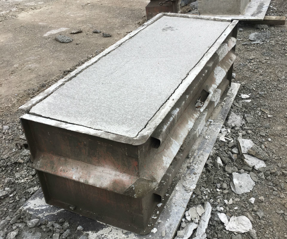 How to set up Concrete Block Forms