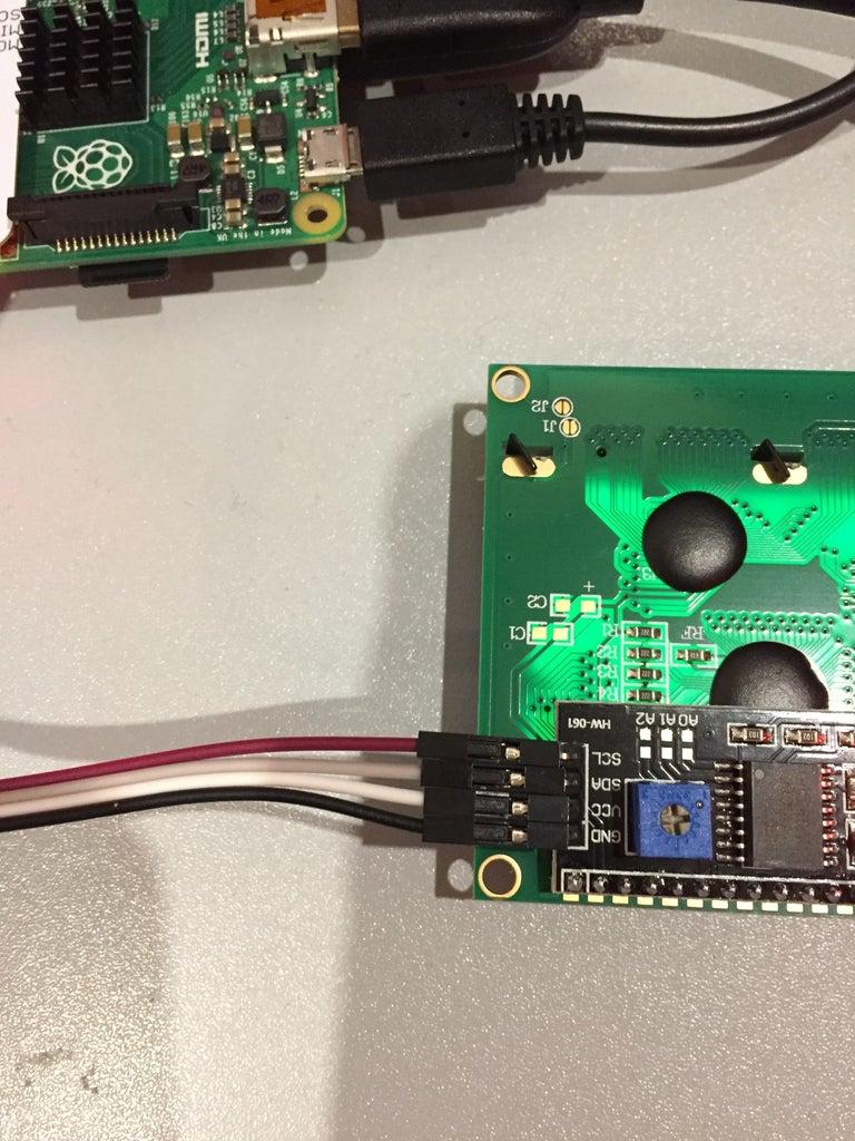 LCD IP/ Clock
