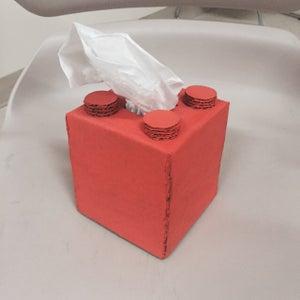Lego Tissue Box (small) Cover